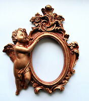 Frames Guardian Angel Mini Decor Brown Gold Patina Classic Worldwide Delivery