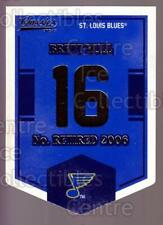 2012-13 Classics Signatures Banner Numbers #64 Brett Hull