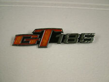 SUZUKI GT185 K-B, '73 - '77  SIDE COVER BADGE, NEW CAST REPRODUCTION.