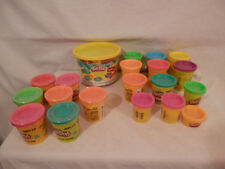 Play Doh Cookie Biscuit molds & a lot of Play Doh 7 New 12 opened