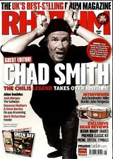 RHYTHM DRUMMER MAGAZINE +CD 2008 SEP CHAD SMITH, JACK DEJOHNETTE, MIKE BORDIN, M