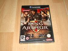 KING ARTHUR EL REY ARTURO DE KONAMI PARA LA NINTENDO GAME CUBE NUEVO PRECINTADO