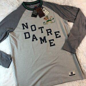 Under Armour Iconic Notre Dame Fighting Irish Long Sleeve Shirt Sz Medium $60