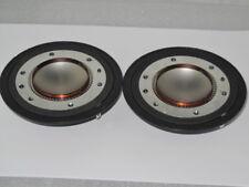 Peavey 22XTRD, 22T, 22XTM 22XT+ 2200 RX22 X 2 diafragmas de Altavoz de Repuesto