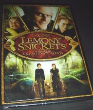 Lemony Snicket's A Series Of Unfortunate Events DVD NEW Jim Carrey 883929319060