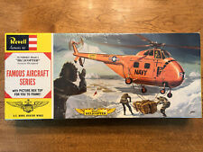 Vintage Revell Sikorsky Helicopter Ho4S-1 Famous Aircraft Series 1960 Navy Nib