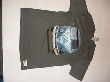 VW Type 2 'old rockers never die' T shirt Size M New genuine VW part