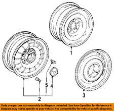 Mercedes MERCEDES-BENZ OEM 84-85 500SEC-Wheel Center Cap Hub Cover 1074000025