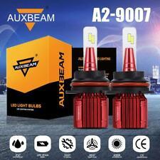 AUXBEAM 9007 HB5 LED Headlight Bulb HID Kit 6500K AUTO PARTS HI-LO Beam Lamp A2