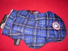Lux Gear Cold Alert! Winter coat blue plaid sz M/M for him