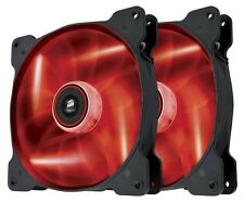 Corsair SP140 Air Red LED High Pressure 140mm Case Fan Twin Pack - CO-9050034-WW