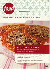 DVD - HOLIDAY COOLIES - 6 COOKIE RECIPES - FOOD NETWORK - NEW
