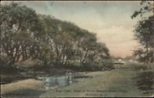 Rochelle IL Kyte Creek c1910 Postcard