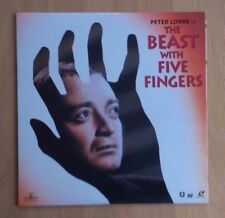 The Beast with Five Fingers (1946) NTSC Laserdisc ML102610