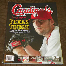 St. Louis Cardinals Gameday Magazine John Lackey 2015 Issue 2 Chicago Cubs