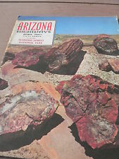 ARIZONA HIGHWAYS April 1963 (Issue featuring The Petrified Forest)