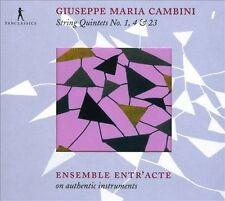 Giuseppe Maria Cambini Quintettes à cordes, New Music