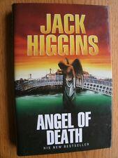 Jack Higgins Angel of Death SIGNED book plate 1st ed UK HC