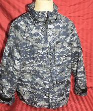 US Navy NWU Digital Camouflage Gore-tex Parka Jacket Medium LONG