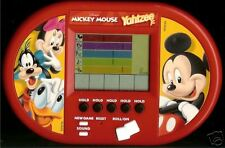 DISNEY ELECTRONIC HANDHELD MICKEY MOUSE YAHTZEE JR GAME FAMILY TOY BOARD GAME