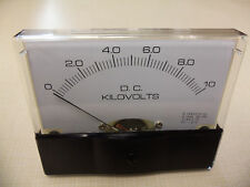 "Dc. Panel METER 0 - 10 Kv  4"" X 3 1/2"" NEW For CB Radio Ham Amp Amplifier"