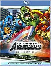Ultimate Avengers/Ultimate Avengers 2 - Rise Of The Panther (Blu-ray, 2011, 2-Di