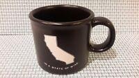 Mercantile12 In A State of Wine Coffee Mug California  Matte Black EUC