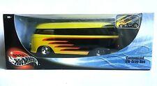 Hot Wheels Customized VW Volkswagen Drag Bus 1/18 Diecast Yellow Black Red 100%