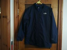 Boys The North Face Blue Hooded Lightweight Jacket Age 14-16 Years (Size Large)