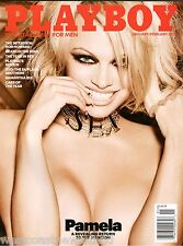PAMELA ANDERSON - Playboy Magazine - JANUARY/FEBRUARY 2016 - LAST NUDE ISSUE