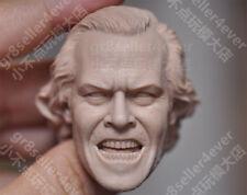 1/6 scale Shocking Guy The Shining Jack Nicholson blank Head Sculpt unpainted #B