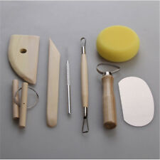 Wood Pottery Tool Set Wartoon All-in-one Wood Clay Modeling Tools Kit DP