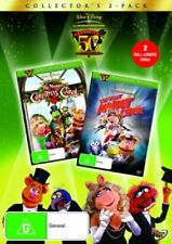 THE GREAT MUPPET CAPER / MUPPET CHRISTMAS CAROL (DVD, 2006 2-Disc Set) BRAND NEW