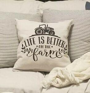 Farmhouse Decorative pillow, accent pillow, throw pillow. sofa pillow