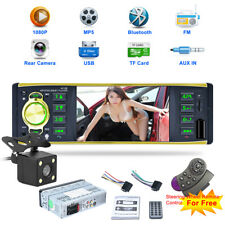 4.1 Zoll Auto Radio 1 DIN HD Bluetooth MP5 Player FM AUX USB/TF Fernbedienung DE