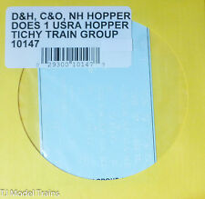 Tichy Train Group #10147 Decal for: Delaware & Hudson/Chesapeake & Ohio/New Have