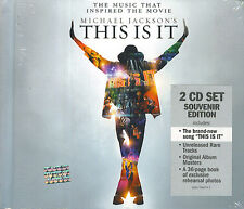 Michael Jackson's This is It (2 CD Set Souvenir Edition + 36 page booklet)