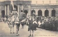 CPA 54 NANCY CORTEGE HISTORIQUE 1909 JEANNE D'ARC