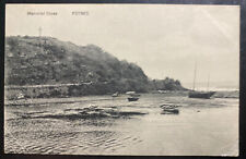 1912 Foynes Ireland Real Picture Postcard Cover To Dublin Memorial Cross View