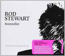 Rod Stewart - Storyteller -  New 4CD Set + 68 Page Booklet