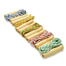 2.4M Kids Skipping Rope Wooden Handle Jump Play Sport Exercise Workout Toy '