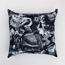 "Gothic Opera Candle Spider Cushion Cover Decorative Trendy Case fits 18"" x 18"""