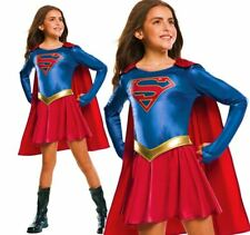 Child SUPERGIRL TV Series Fancy Dress Costume Book Week Superhero Comic Book Day