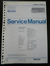 Original Service Manual Philips f 4220