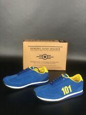 NIB Fallout 3 Vault Tec 101 Blue Suede Shoes US Mens Size 10.5  RARE