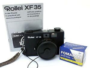 ✮ Rollei XF 35 mit Sonnar 40mm f/2.3 Objektiv Rangefinder SET// vom Händler!