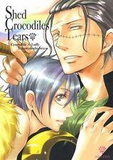 One Piece YAOI Doujinshi ( Crocodile x Luffy ) Shed Crocodiles Tears Teionyakedo