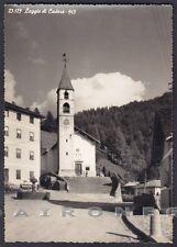 BELLUNO VIGO DI CADORE 11 Frazione LAGGIO Cartolina FOTOGRAFICA viaggiata 1958