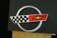 """Chevrolet Chevy Corvette Iron-On Embroidered Patch 6x4.25"""""""