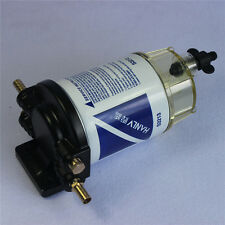 """3/8"""" NPT Fuel Filter / Water Separator System S3213 for Marine outboard Motor"""